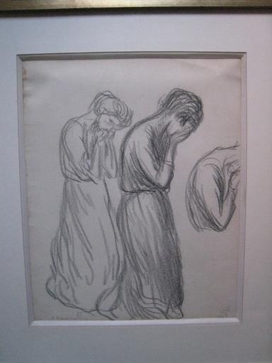 Théophile Alexandre STEINLEN - Dessin-Aquarelle - ETUDE  DE FEMMES