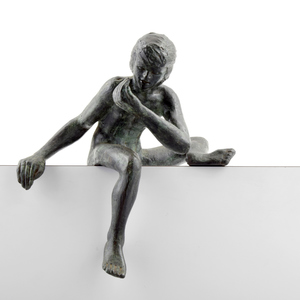 Victor SALMONES - Scultura Volume - Victor Salmones Nude Figural Sculpture