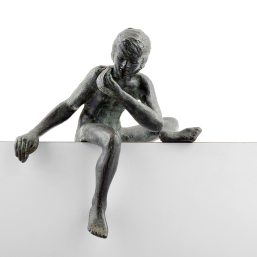 Victor SALMONES - Escultura - Victor Salmones Nude Figural Sculpture