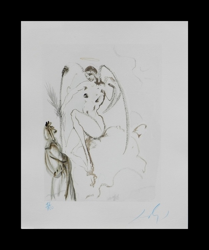 萨尔瓦多·达利 - 版画 - Divine Comedy Heaven Canto 28