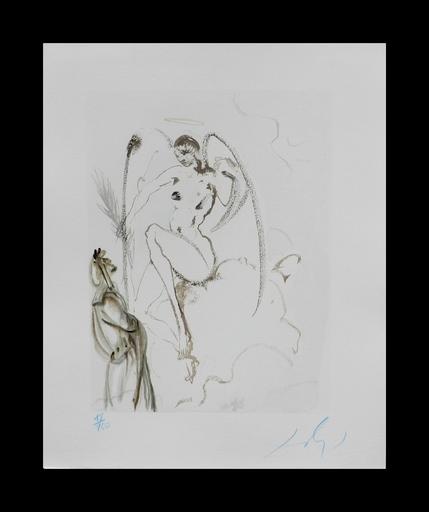 Salvador DALI - Grabado - Divine Comedy Heaven Canto 28