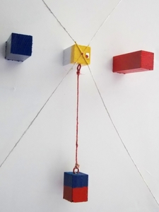 Albert CHUBAC - Sculpture-Volume - LA BALANCE CHROMATIQUE