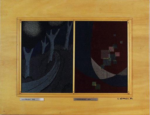 Luigi VERONESI - Estampe-Multiple - La strada 1992 - La costruzione 1976