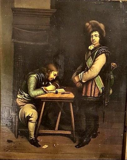 Joseph Ignaz VAN HOY - Gemälde - la lettre