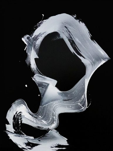 Newel HUNTER - Peinture - « GivingVoiceTo It »