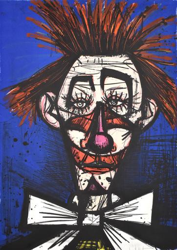 Bernard BUFFET - Radierung Multiple - Pipo, from: My Circus