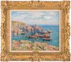 Henry MORET - Pintura - Anse de Groix