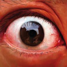 LU Zhengyuan - Pintura - Left eye