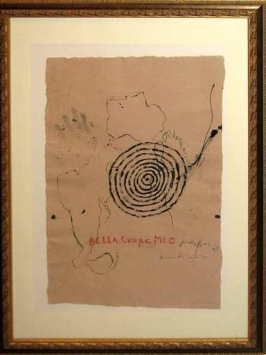 Piero PIZZI CANNELLA - Painting - Bella cuore mio