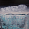 Harry James MOODY - Painting - Abstract and icebergs NO.323