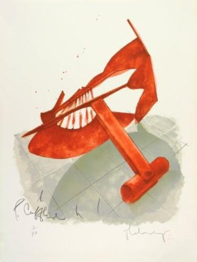 Claes Thure OLDENBURG - Stampa-Multiplo - Picasso's Cufflings
