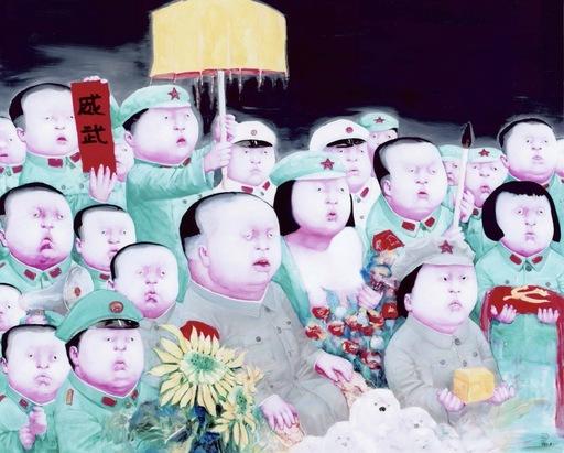 尹坤 - 绘画 - Chinese baby 10-1000