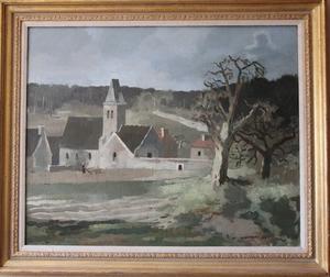 Roland OUDOT, l'Abbaye d'Elancourt (Yvelines)
