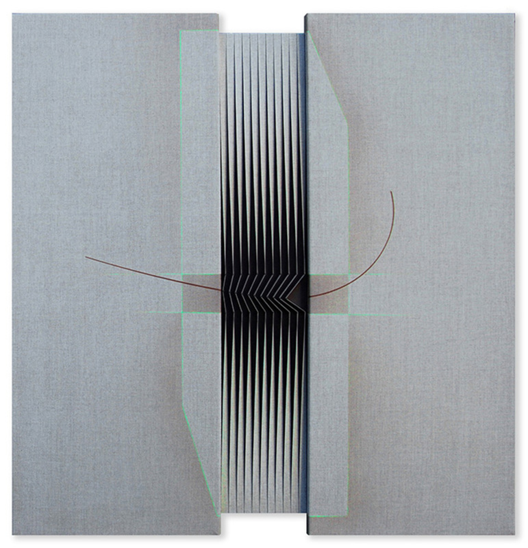 Alberto BIASI - Painting - Ricciolina... ti aspetto domani alle due