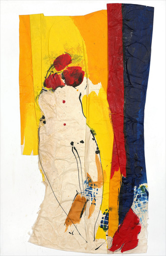 Judith WOLFE - Painting - Corps rebelle I