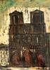 Edgar STOEBEL - 绘画 - Notre Dame, Paris