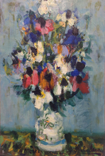 Eugène BABOULENE - Painting - Fleurs