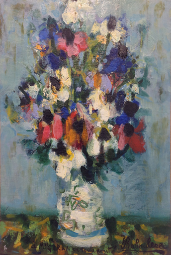 Eugène BABOULENE - Peinture - Fleurs