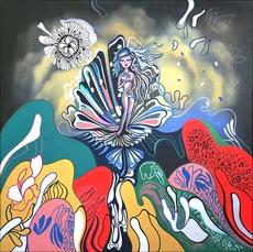 ANTHEA MISSY - Peinture - Venus In Bloom
