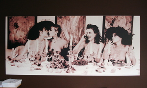 Marc LAGRANGE - 照片 - 4 woman at dinner