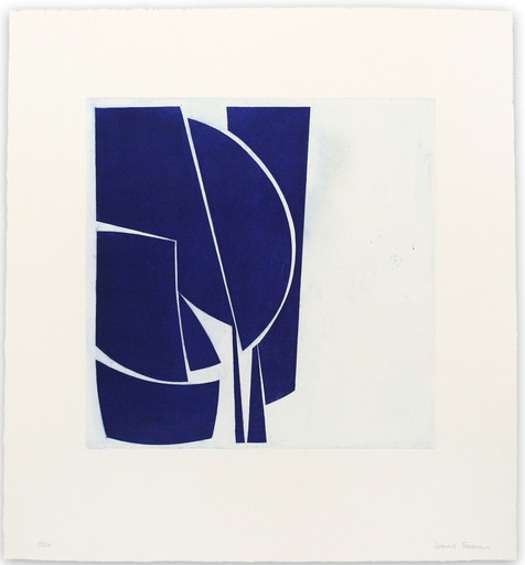 Joanne FREEMAN - Print-Multiple - Covers 1 Ultramarine