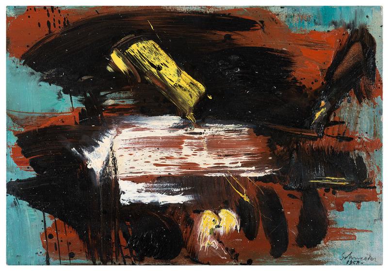 Gérard SCHNEIDER - Painting - Opus 106 C