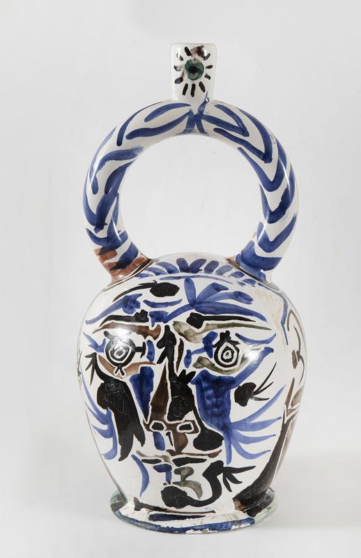 Pablo PICASSO - Ceramiche - Vase aztèque aux deux visages