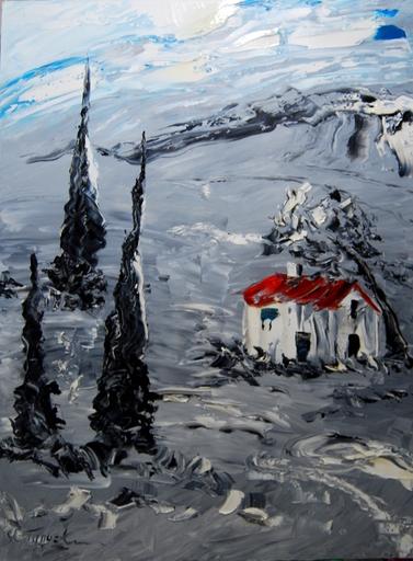 Serge Louis TUQUET - Painting - Pastorale