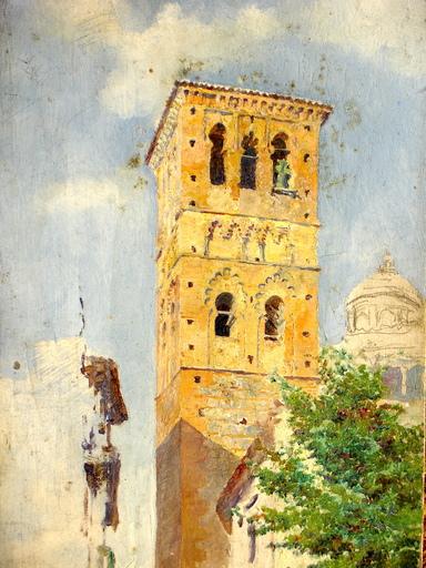 José VERA GONZALEZ - Pittura - à U. Checa -Toledo -Tolede _España