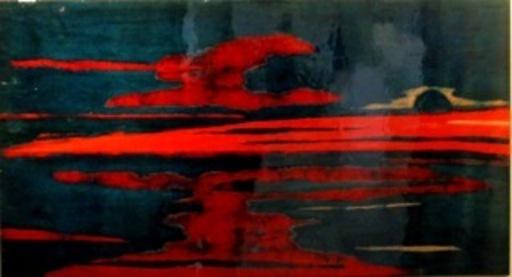 Anne MUSSCHE - Peinture - Rivière rouge