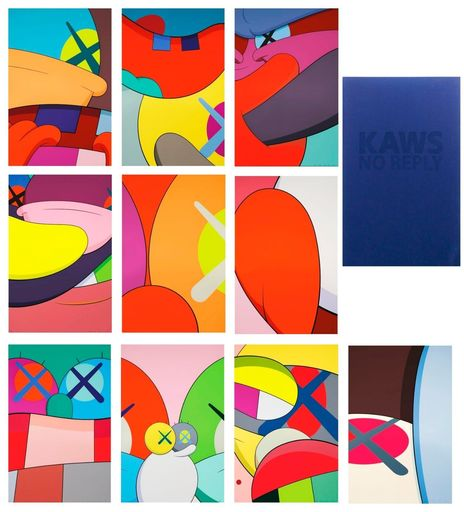 KAWS - Estampe-Multiple - No Reply Portfolio