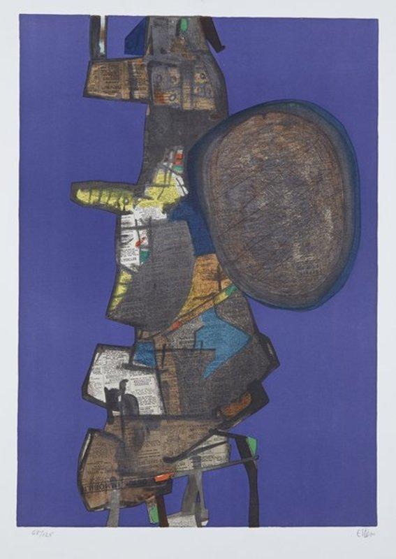 Maurice ESTEVE - Print-Multiple - Bank Street