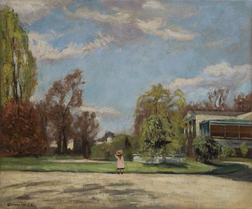 Charles CAMOIN - Pintura - Promenade au parc