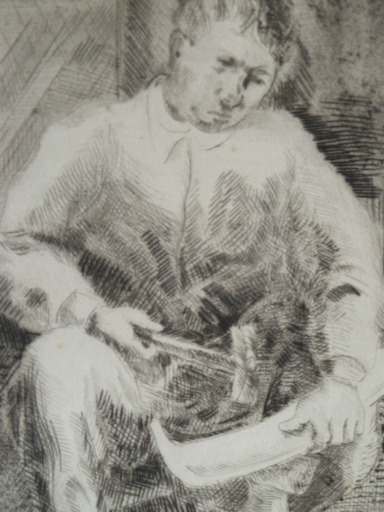 Adolphe FEDER - Print-Multiple - The Blacksmith