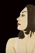 Alex KATZ - Estampe-Multiple - Laura