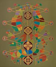 Enrique Rodriguez GUZPENA - Painting - El ramo del escultor