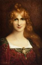 Élisabeth SONREL - Painting - Ligéia