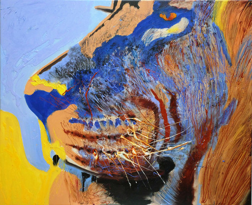 Peny MANAVI - Peinture - King