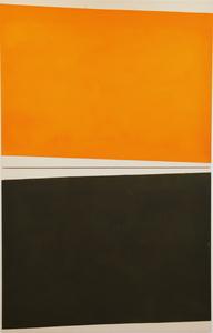 Guillaume MOSCHINI - Peinture - Sans titre (Réf 80F 001 - diptyque)