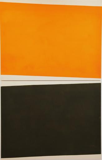 Guillaume MOSCHINI - Painting - Sans titre // Réf 80F 001 (diptyque)