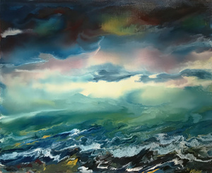 Vittorio BELLINI - Gemälde - Poesia sul mare, 2002