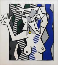 Roy LICHTENSTEIN - Print-Multiple - NUDE IN THE WOODS