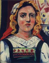 Élisée MACLET - Painting - La blonde Austrichienne