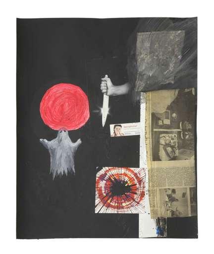 Tony OURSLER - Dessin-Aquarelle - Untitled