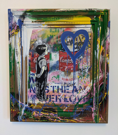MR BRAINWASH - Pintura - With All My Love (canvas)