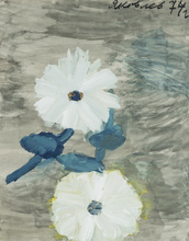 Vladimir Igorevich YAKOVLEV - Drawing-Watercolor - White Flowers