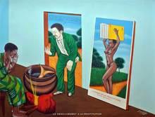 Chéri SAMBA - Peinture - Renoncement à la prostitution