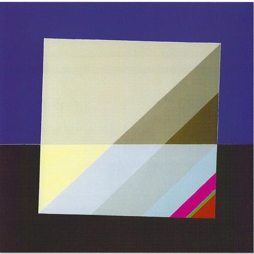 Eugenio CARMI - Peinture - Quadrato instabile