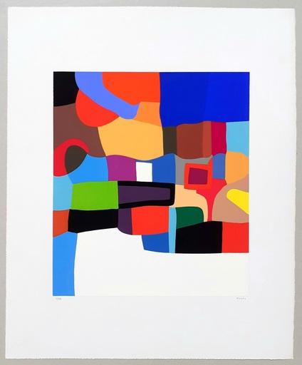 Alberto BURRI - Print-Multiple - Serigrafia 2-D