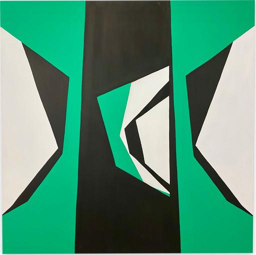 Ulla PEDERSEN - Pittura - Cut-Up Canvas 2002